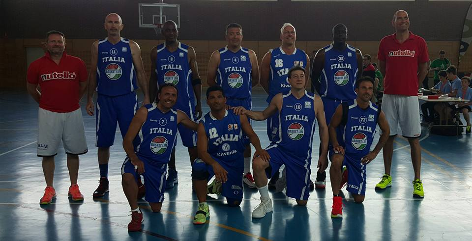 nazionale italiana di basket over 45
